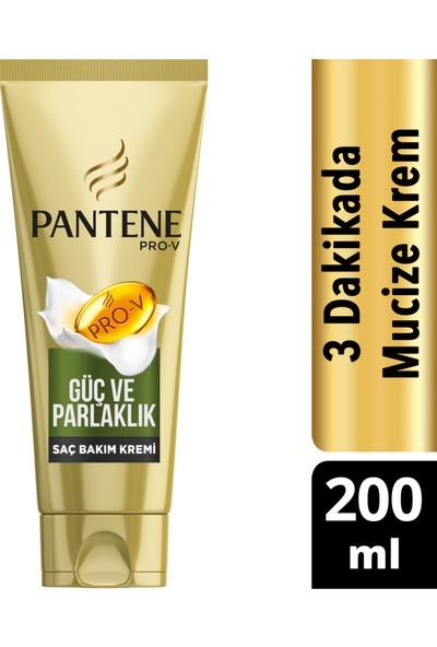 Pantene 3 Minute Miracle 200 ml Güç ve Parlaklık Saç Bakım Kremi
