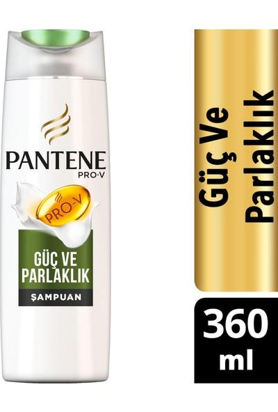 Pantene Doğal Sentez Güç ve Parlaklık 360 ml Şampuan