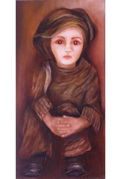 Evka Ahşap Masum Kız