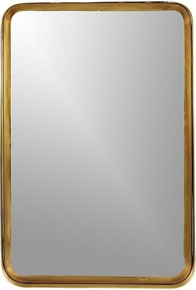 Evka Metal Pirinç Çerçeveli Ayna