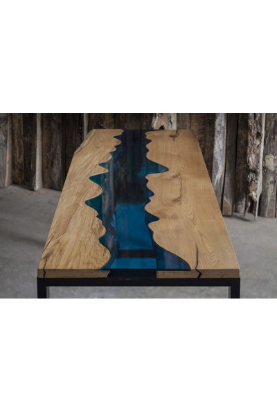 Evka Özel Aksesuar Aqua Waves Çalışma Masası