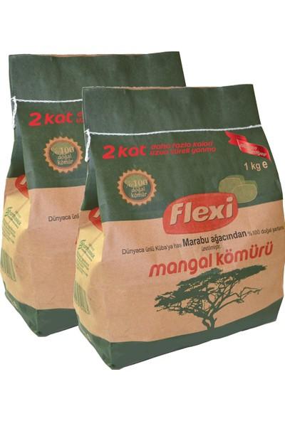 Flexi Mangal Kömürü 1 Kg.