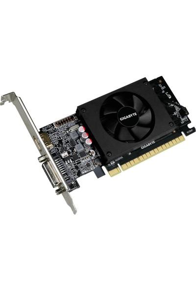 Gigabyte Nvidia GeForce GT 710 2GB 64Bit DDR5(DX12) PCI-E 2.0 Ekran Kartı(GV-N710D5-2GL)