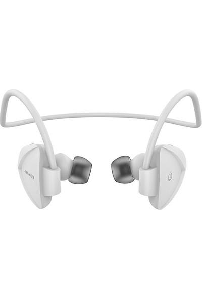 Awei Kablosuz Bluetooth Kulaklık A840BL - Beyaz