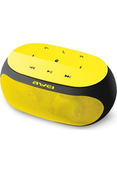 Awei Kablosuz Bluetooth Hoparlör Y200 - Sarı