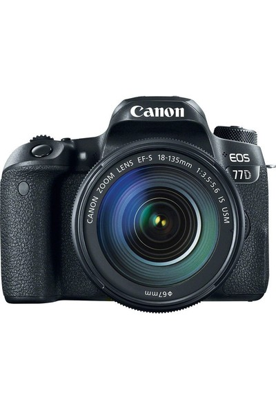 Canon Eos 77D 18-135mm IS USM Nano Lens Kit İthalatçı Garantili