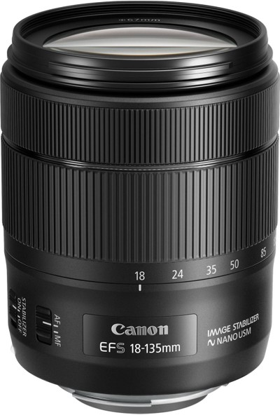 Canon Eos 77D 18-135mm IS USM Nano Lens Kit İthalatçı Garantili
