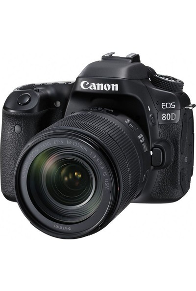 Canon Eos 80D 18-135mm IS USM Nano Lens Kit + 16Gb Kart + Çanta