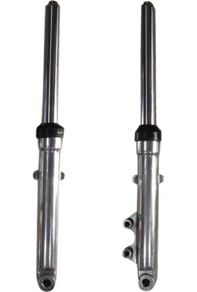 Wiwi Cg Modellerine Uyumlu 125 Cg Kısa Ön Amortisör Takımı Diskli