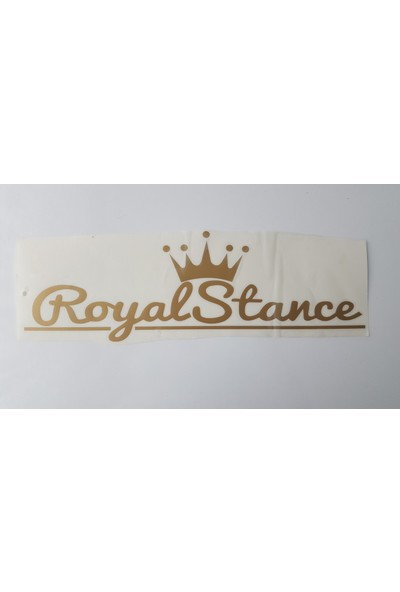 Smoke Royal Stance Sticker