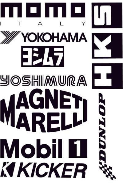 Smoke 9 Lu Set Momo Sticker