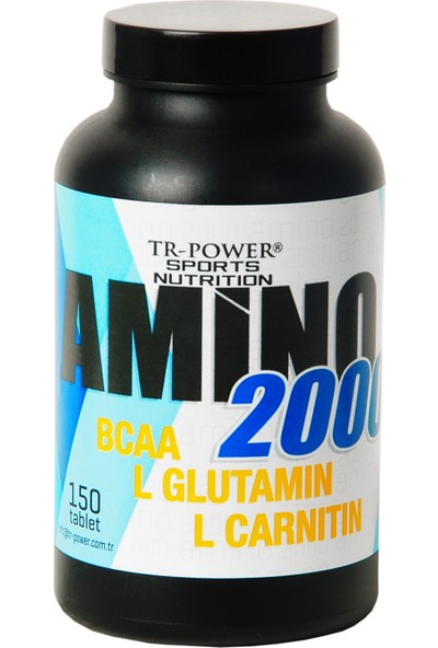 Tr Power Amino 2000 (150 Tablet) Bcaa,l-glutamin,l-carnitine