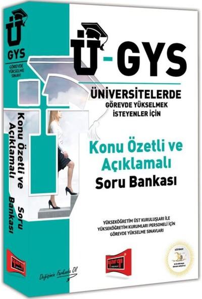 Yargı Yayınevi Ü-GYS Konu Özetli Açıklamalı Soru Bankası