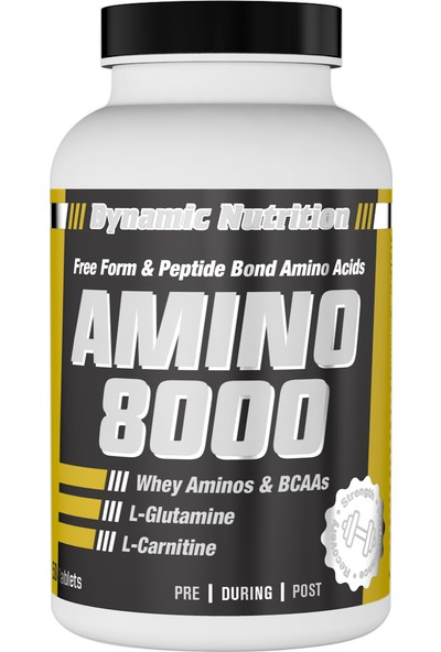 Dynamic Nutrition Amino 8000 150 tablet