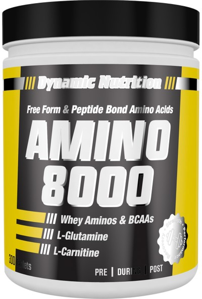 Dynamic Nutrition Amino 8000 300 tablet