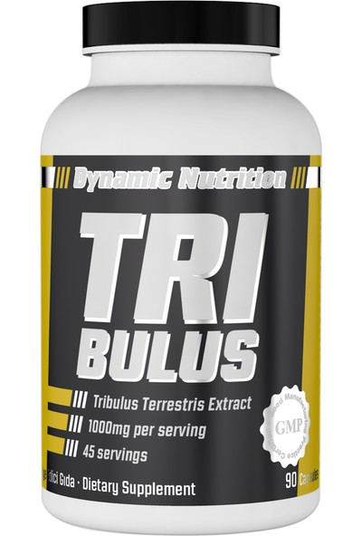 Dynamic Nutrition Tribulus 90 kapsül