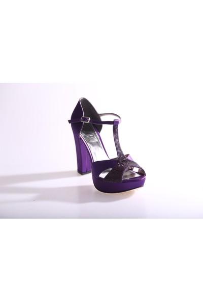 Dgn 4653 Kadın Abiye Ayakkabı