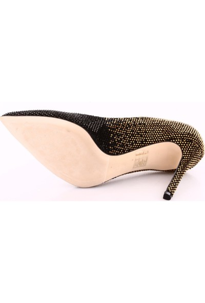 Poletto 2536-08 Kadın Sivri Burun Taşlı Stiletto