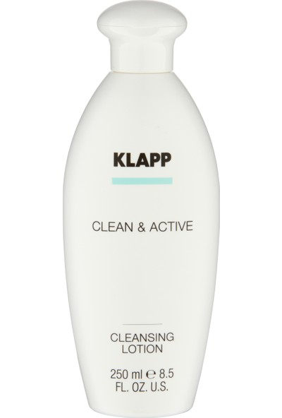 KLAPP CLEAN&ACTIVE NORMAL VE KURU CILTLER IÇIN TEMIZLEME LOSYONU 250ML