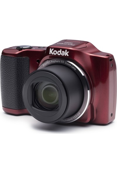 Kodak Pixpro Friendly Zoom FZ201 - Kırmızı