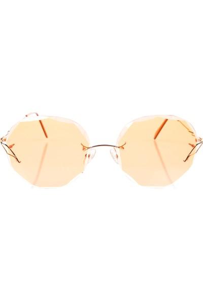 Flair Flr 719 738 P14 Turuncu Kadın Güneş Gözlüğü