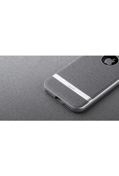 Moshi Vesta iPhone X Balıksırtı Gri Telefon Kılıf