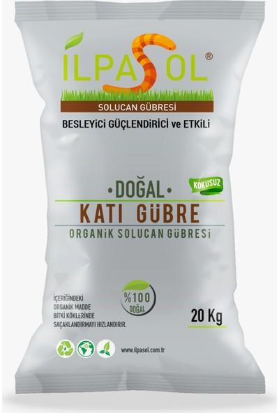 İlpasol %100 Organik Solucan Gübresi