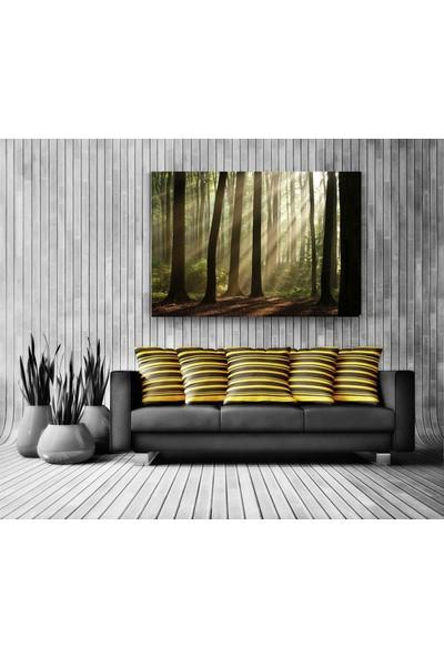Evdeka Ormanların Ulu Ağaçları Temalı Kanvas Tablo