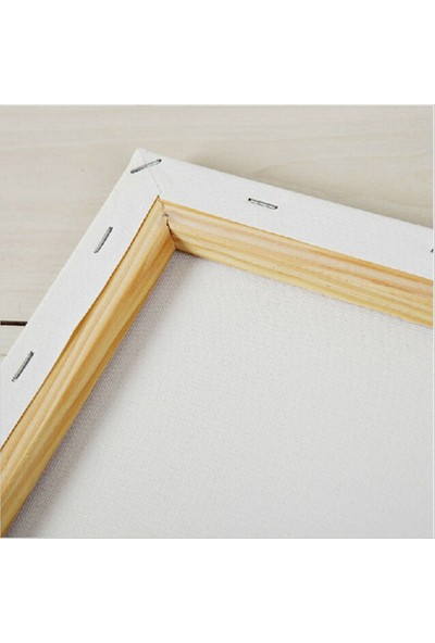 Evdeka Uzun Çayırlar Temalı Kanvas Tablo