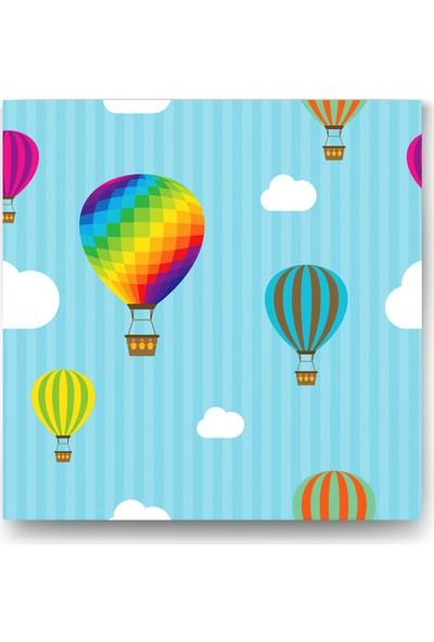 Evdeka Renkli Balon Desenli Çocuk Kanvas Tablo