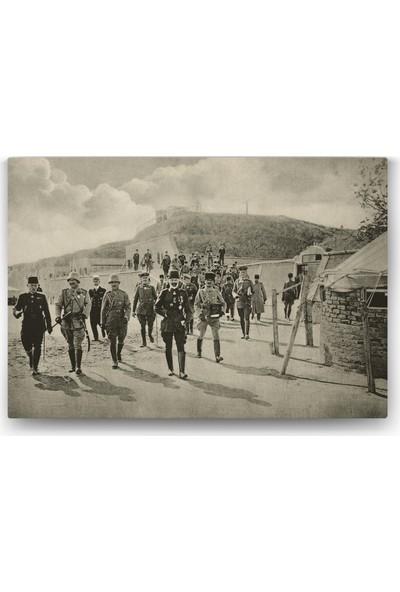 Evdeka Çanakkale Savaşı Temalı Kanvas Tablo