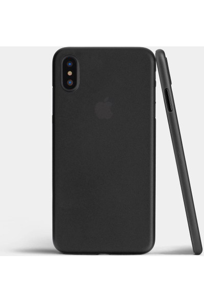 Case 4U Apple iPhone X Kılıf Ultra İnce 0.2mm Kapak