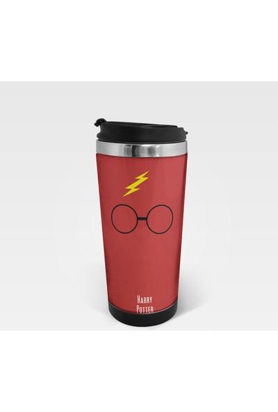 Juno Harry Potter Termos Kupa Bardak 350 ML İç Dış Paslanmaz Çelik