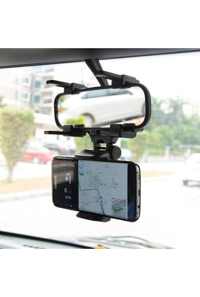 Cyber AN-9866 Araç İçi Dikiz Aynası Telefon Tutucu Tutacağı