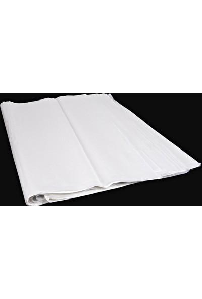 Menteşoğlu Kağıtçılık Beyaz Pelür Süs Kağıdı (1kg)