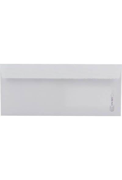 Oyal Diplomat Zarf Pencereli 105 x 240 mm Beyaz SLK 500'lü Paket