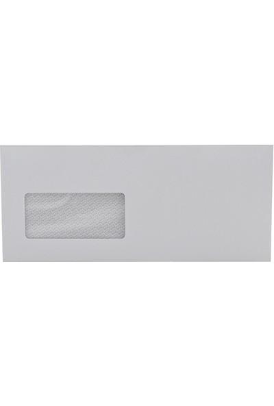 Oyal Diplomat Zarf Pencereli 105 x 240 mm Beyaz 500'lü Paket