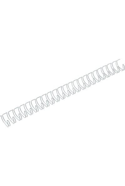 Mapiwire Kutu Tel Spiral 5/8 inç 50'li Renk - Gümüs