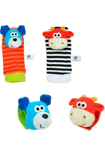 Sozzy Toys SZY119 Çıngıraklı Çorap ve Bileklik Seti