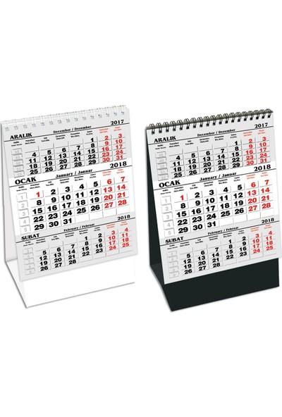 Keskin Color MDZK-786 Ebat: 11*185 cm Karton Üçgen Masa Takvimi