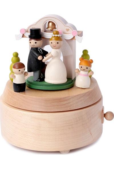 Wooderfullıfe Gelin Ve Damat Konseptli Müzik Kutusu Düğünümüz Var 1060401