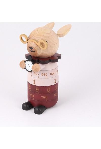 Wooderfullıfe Dekor Takvim Akıllı Tavşan 1289002