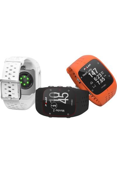 Polar M430 Bilekten Nabız Ölçerli GPS'li Koşu Saati - Orange (Türkçe Dil Desteği)