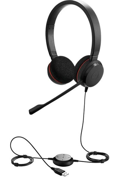 Jabra Evolve 20 DUO USB NC MS Kulaklık
