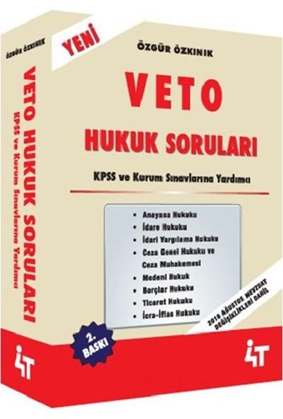 KPSS A Veto Hukuk Soruları Özgür Özkınık 2. Baskı