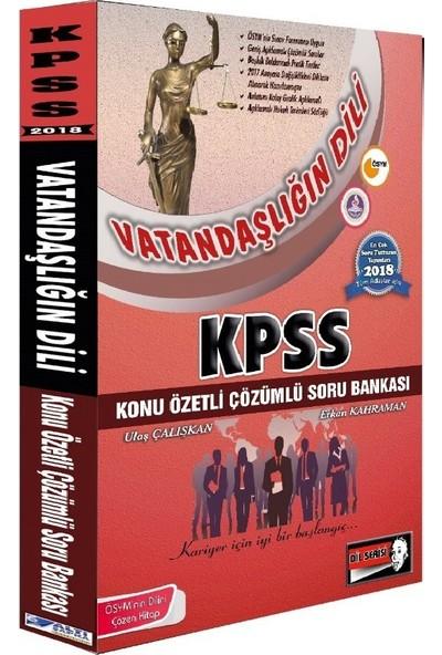 Altı Şapka 2018 KPSS Vatandaşlığın Dili Konu Özetli Soru Bankası Çözümlü