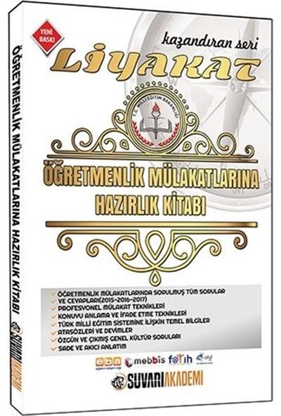 Liyakat Öğretmenlik Mülakatlarına Hazırlık Kitabı