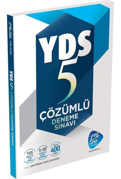 Me Too YDS Çözümlü 5 Deneme