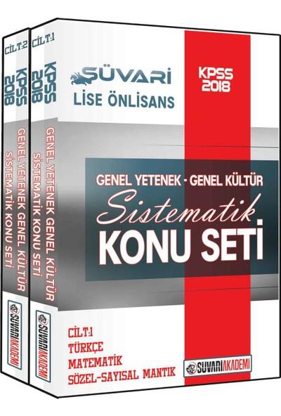 Süvari Akademi 2018 KPSS Lise Ön Lisans Sistematik Konu Seti