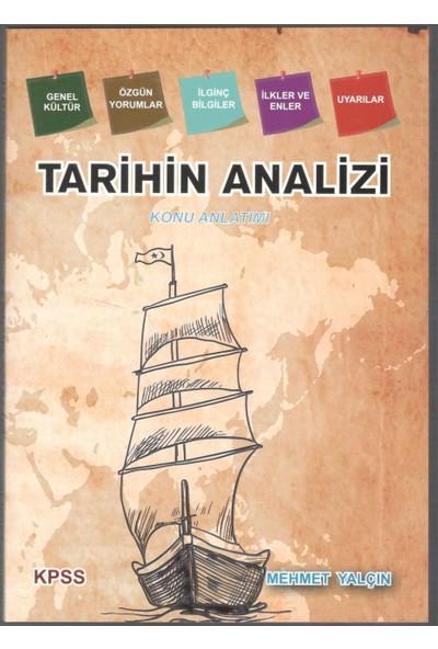 KPSS Tarihin Analizi Konu Anlatımlı Mehmet Yalçın